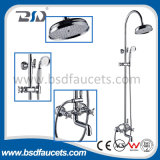 China Modern Brass Copper Chrome Banheira Faucet Set