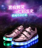 La manera popular embroma los zapatos del LED para los niños