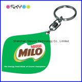 Personalizzare la modifica di cane di marca del PVC Keychain