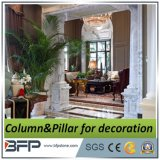 Цвет мраморными колоннами Пилар для украшения