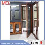 Portas de vidro em alumínio com janelas feitas na China