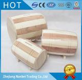Piccolo contenitore di soldi di legno di marchio su ordinazione