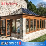 Sunroom en aluminium en verre Tempered de bâti