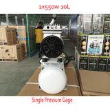 компрессор воздуха винта молчком масла 550W 10L 230V свободно