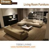 Verter el sofá moderno de la esquina de la tela