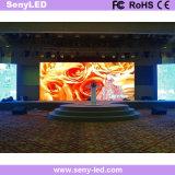 P3.91 실내 단계 성과 LED 스크린