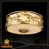 중국 작풍 앙티크 금관 악기 둥근 천장 램프 (KATX-1800-5A)