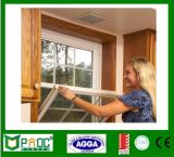 Doppia singola finestra appesa di alluminio di vetro con il disegno Pnoc0082shw della griglia