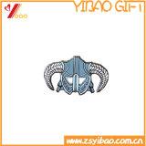 Insigne en alliage de zinc de personnalité de mode avec l'émail mol (YB-LY-B-09)