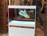 Caja de presentación de cristal olográfica, tecnología del holograma para hacer publicidad