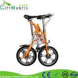 Aluminiumlegierung X-Form Entwurfs-faltendes Fahrrad Yz-7-16