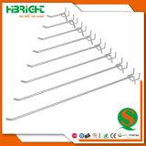 Cromado de buena calidad Cable solo Gridwall ganchos de pantalla