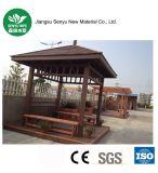Pavillon composé en plastique en bois personnalisé de stationnement