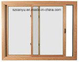 Aluminium Windows coulissant et porte/guichet de caisse en bois solide épreuve d'ouragan