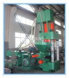 Máquina hidráulica de la prensa de enladrillar del serrín del metal Y83-630