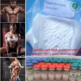 筋肉同化ステロイドホルモンAnavarはホルモンの粉に薬剤を入れる
