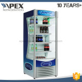 Refrigerador del aire abierto de la visualización de la cubierta de Muti del supermercado en alta calidad