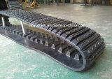 Het RubberSpoor van de goede Kwaliteit voor PT50 de Compacte Laders van het Spoor Terex