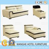 Insieme moderno del sofà del cuoio genuino dell'ufficio della mobilia del sofà