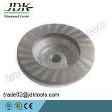 Moedura do diamante D100*M14/que lustra/roda abrasiva do copo para o granito