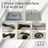 Surface adjacente visuelle de cadre de navigation de GPS pour le model d'Audi A4 A5 Q5 09-16 ce 6.0 de victoire de 6.5 pouces