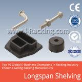 Prateleira de metal pesado de longo alcance para armazenagem industrial de armazém