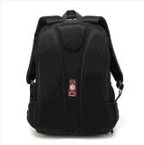 Morral negro de la computadora portátil con el bolsillo de Ereader de la tablilla