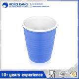 Изготовленный на заказ популярная одностеночная пластичная кофейная чашка