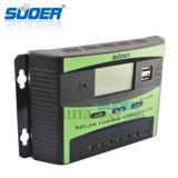 Controlador inteligente solar da potência cobrando de Suoer 12V 24V 30A (ST-C1230)