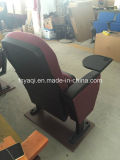 Yaqi Iglesia silla del auditorio con apoyabrazos de plástico y Tablet (YA-04P)
