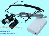 Los instrumentos quirúrgicos iluminada de luz LED Lupa Lupa