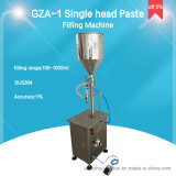 Inserimento del pistone e macchina di rifornimento verticali del liquido per crema (GZA-1)
