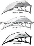 80X120cm de Openlucht Economische Luifel van de Deur van het Polycarbonaat DIY (yy800-B)