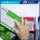 Устранимые перчатки FDA/Ce/ISO/En374/En420 винила