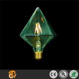 3W luz creativa retro da forma do diamante do diodo emissor de luz Edison
