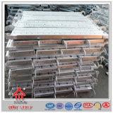 Pavimento de galvanizado pré-fabricado de rolamentos de alta carga Placa de aço