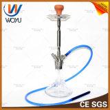 360 graus giram o cachimbo de água do ofício do cinzeiro de vidro de aço inoxidável