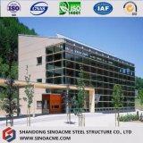 Construcción prefabricada certificada del metal/edificio estructural con el pabellón