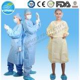 Cuatro vestido quirúrgico estéril reforzado disponible de los lazos SMS