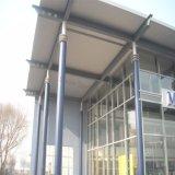 Salle d'exposition préfabriquée en acier