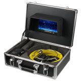 """7 """" sistema di ispezione dello scolo della macchina fotografica dell'affissione a cristalli liquidi DVR 1200tvl con 12 la scheda di deviazione standard degli indicatori luminosi 4GB del LED"""