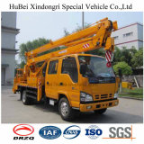 werkende Vrachtwagen van de Hoge Hoogte van 18m Isuzu Euro4 de Speciale