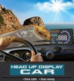 A8 sistema de seguridad Vehicle-Mounted de la visualización ascendente de la pista de Hud del coche de 5.5 pulgadas