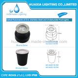 Luz subacuática ligera del color LED Recesse de DC12V IP68 RGB Muiti