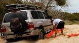 도로 지프 떨어져를 위한 J268 PP 10tons 복구 모래 진흙 눈 견인 궤도