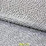 Populäres weiches Snakeskin Korn PU-Schuh-Material-Leder