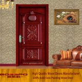 Klassiker, der festes Holz-interne Raum-Tür (GSP2-073, schnitzt)