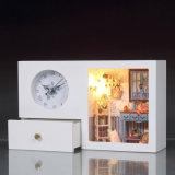 Jouet en bois miniature de Chambre de poupée de DIY