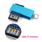 Tourner le mini disque de mémoire de lecteur flash de l'émerillon 4GB USB 3.0