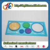 Plastikbriefpapier-gesetztes Mathe, das Spielwaren für Kind-Form-Spielwaren erlernt